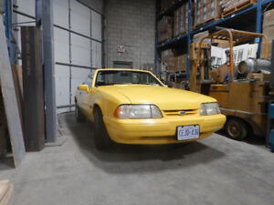 1993 Mustang Convertible Feature Car