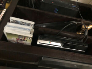 PlayStation 3 with 9 games and turtle beach headset