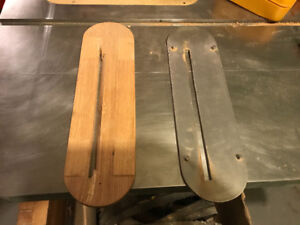 Rockwell tablesaw inserts