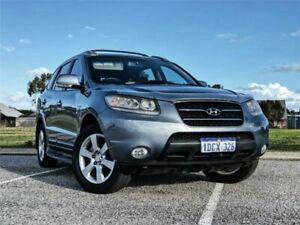 2009 Hyundai Santa Fe CM MY09 Upgrade Elite CRDi (4x4) Blue 5 Speed Automatic Wagon