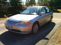 2003 Honda Civic Sedan - Low KMs, excellent shape, must go