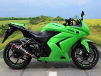 Kawasaki EX 250 Ninja R ** Scorpion performance Exhaust**