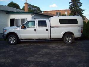 2012 Ford 350 XLT Pickup Truck with 8 Foot Space Cab