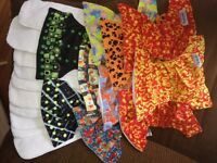 10 GlowBugs Cloth Diapers