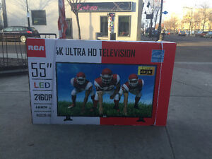 "RCA 55"" 4K ULTRA HD TELEVISION BRAND NEW IN BOX"