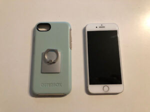 64GB White iPhone 8 (unlocked) with OtterBox