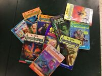 R L Stine Goosebumps books