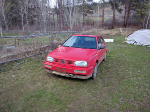 1995 Volkswagen Golf $800 obo lots of new parts