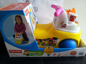 Brand New! Fisher-Price Little People Melody Maker Ride