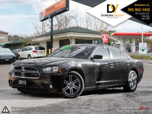 2013 DODGE CHARGER SXT |***REDUCED***| CERTIFIED| WARRANTY!
