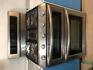 Kitchen Aid free standing gas range and convection oven