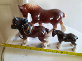 3 horse ornaments. £10 for 3