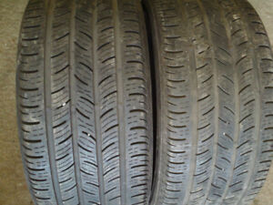 255/35r18 pair of continental contipro condition in good cond.