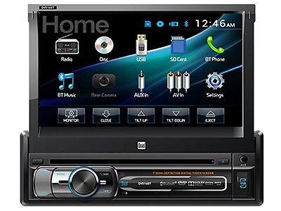 "Dual DV516BT 7"" In-Dash Flip-Out DVD/CD Car Audio Receiver +Bluetooth +USB/AUX"