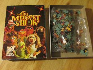 THE MUPPET SHOW Jim Henson HOPE Jigsaw Puzzle 77 Vintage Kermit