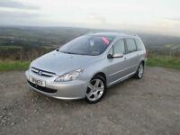 Peugeot 307 SW 2.0HDi 136 2004MY XSi