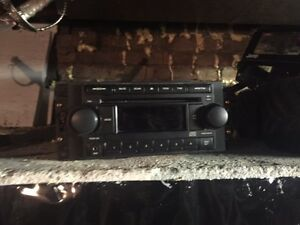 Double din car CD player