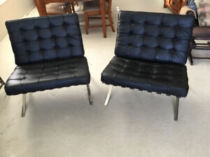 Modern style chairs