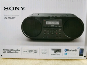 Sony ZS-RS60BT wireless Bluetooth Portable personal audio system