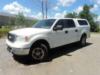 2007 Ford F-150 XLT SUPERCAB 4X4  WITH CAP 4 DOORS  PICKUP