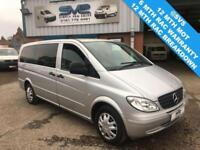 2006 56 MERCEDES VITO 111 CDI LONG TRAVELINER 9 SEAT MINIBUS TOP SPEC LOW MILES*