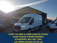 2015 15 FORD TRANSIT 350 LWB 125 BHP ONLY 56000 MLS CUSTOM VAN