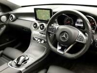 2017 Mercedes-Benz C-CLASS C 200 AMG Line Saloon Auto Saloon Petrol Automatic
