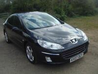 Peugeot 407 2.0HDi 136 2007MY Sport 102k new cam belt and water pump, f.s.h