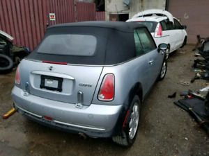 2005 mini cooper canveltable