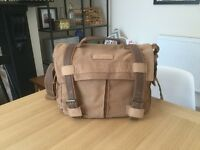 Canvas DSLR Camera Bag Satchel