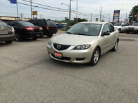 2005 Mazda 3 * CERTIFIED AND EMISSION TESTED * great KMs *