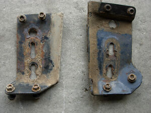 OBS Ford Diesel Mounting Plates (Frame Perches)