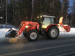 Snow Removal - in Val Caron, pine crest area