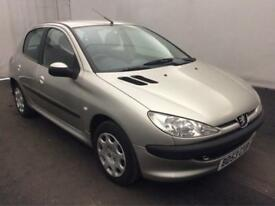 PEUGEOT 206 1.4HDi S..ONE OWNER..LOW MILES..FULL HISTORY..£30 YR RD TAX..V G C