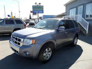 2008 Ford Escape AWD LTD++FINANCEMENT MAISON++100% APPROUVÉ++