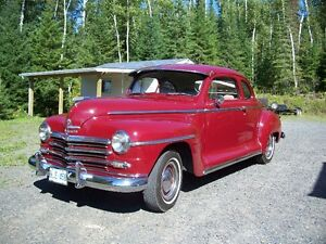 1948 Plymouth Business Man's Coupe