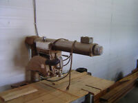 Radial Arm Saw and Cabinet