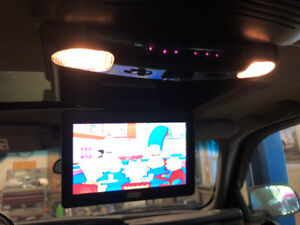 GM truck Factory stereo system including roof DVD & headphones