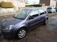 2007 Ford FIESTA 1.25 MK6 5dr style climate (9 months MOT and LOW MILES)