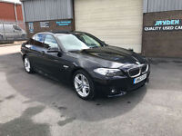 2013 BMW 520 2.0 TD M-SPORT AUTOMATIC TURBO DIESEL,SALOON,ONLY 41000 MILES