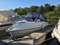 Fletcher cabin cruiser 18ft