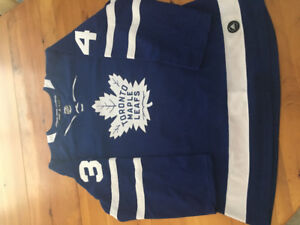 Authentic leafs jerseys - Matthews and Tavares.