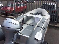 Xpro 3.6m Sea Rover aluminium rib and trailer perfect condition