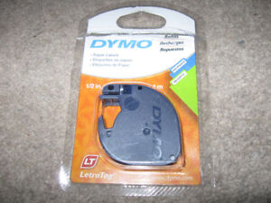 Dymo Paper Labels Letratag-Open but never used + more