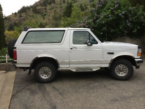 1996 Ford Bronco XLT SUV