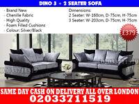 Dimo Crushed Velvet 3+2 Sofa--Best Quality