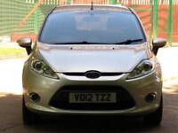 2012 12 FORD FIESTA 1.2 ZETEC 5D 81 BHP