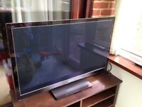 "Panasonic tv 42"" still under john Lewis warranty"