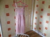 Next signature wedding flower girls formal party dress 8-9 8 years old