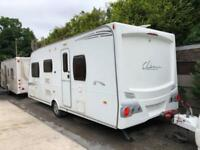 2009 Lunar Clubman ES 4 berth Caravan Great Family Layout VGC Awning BARGAIN !